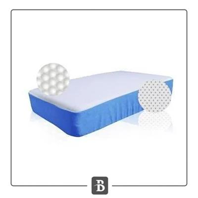 ALMOHADA DUAL RELAX BLUE REST 70X40