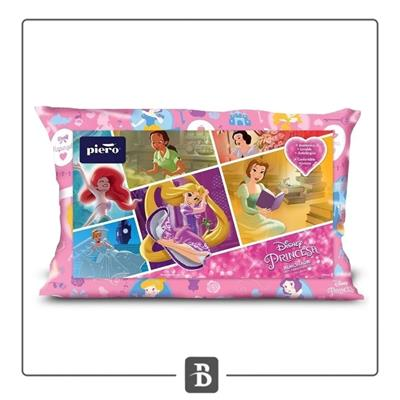 ALMOHADA VELLON DISNEY PRINCESS PIERO 70X40