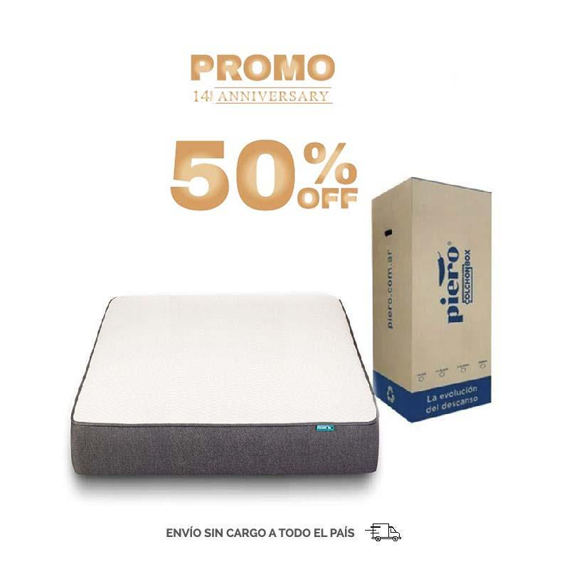 COLCHON 2 PLAZAS COLCHON BOX 140X190