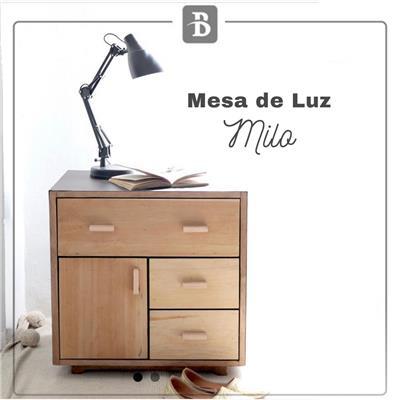 MESA DE LUZ MILO