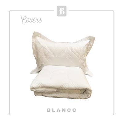 COVER COLORS LISO KING ANCO BLANCO